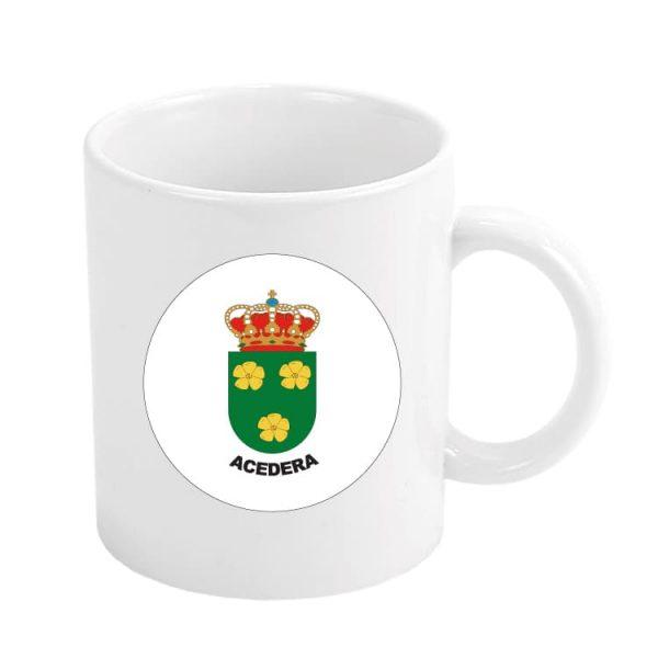 1376 taza escudo heraldico acedera