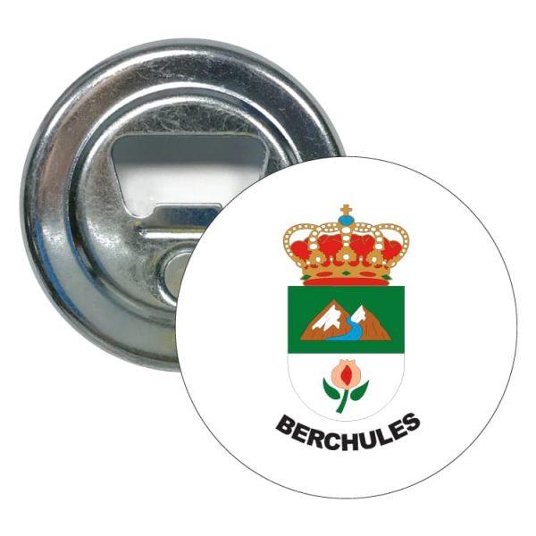 abridor redondo escudo heraldico berchules
