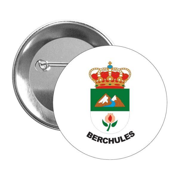 chapa escudo heraldico berchules