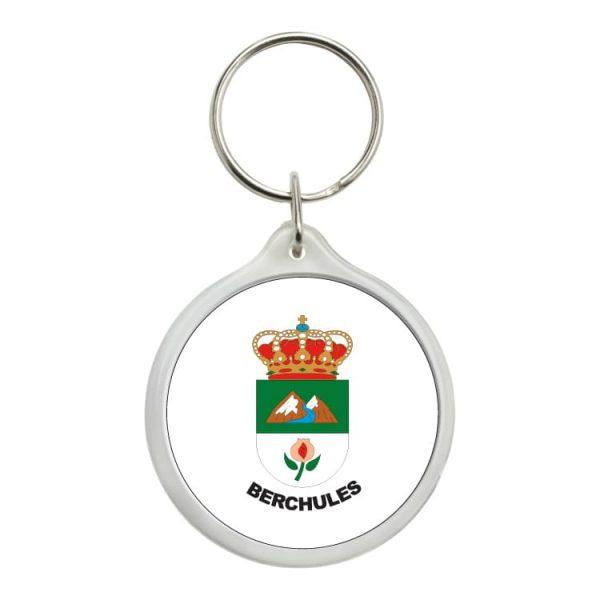 llavero redondo escudo heraldico berchules