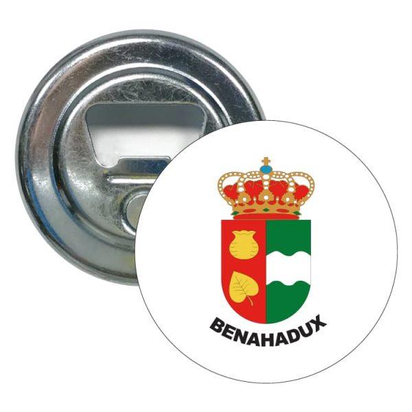 abridor redondo escudo heraldico benahadux