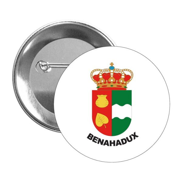 1378 chapa escudo heraldico benahadux