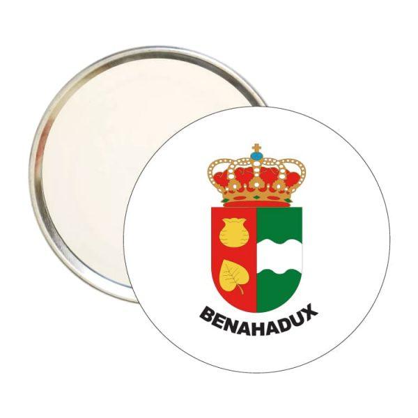 espejo redondo escudo heraldico benahadux