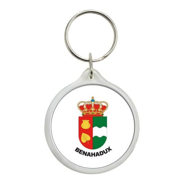 llavero redondo escudo heraldico benahadux