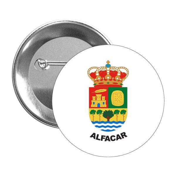 chapa escudo heraldico alfacar