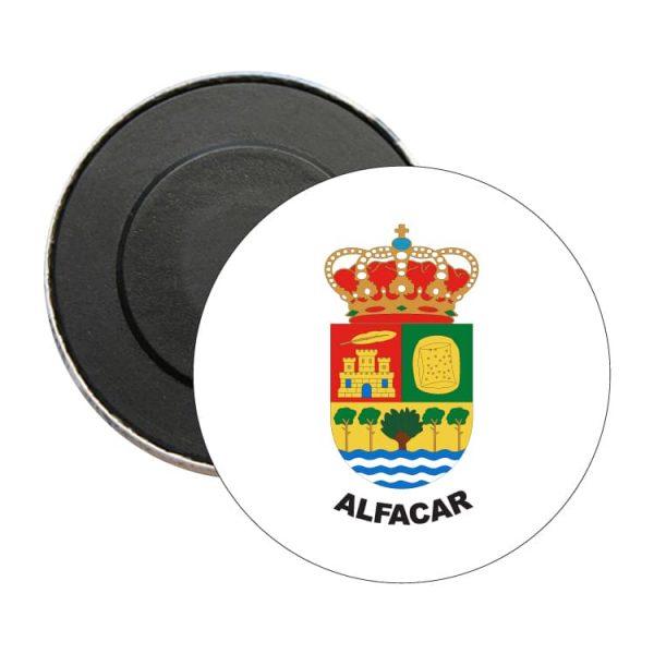 iman redondo escudo heraldico alfacar