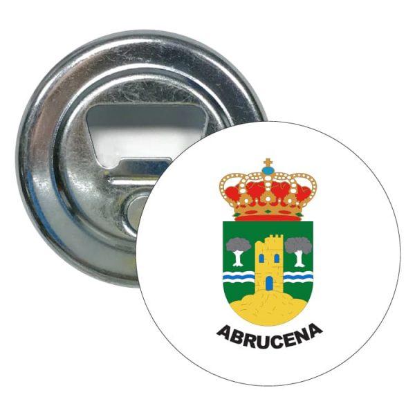 abridor redondo escudo heraldico abrucena