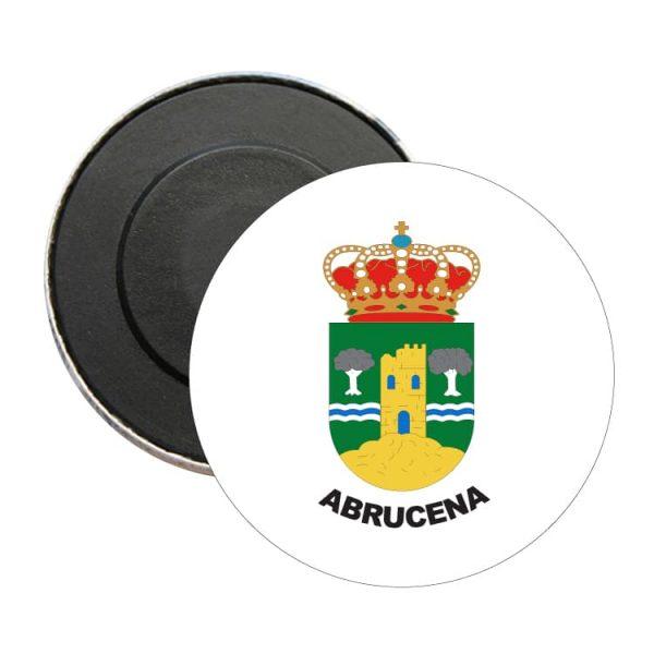 iman redondo escudo heraldico abrucena