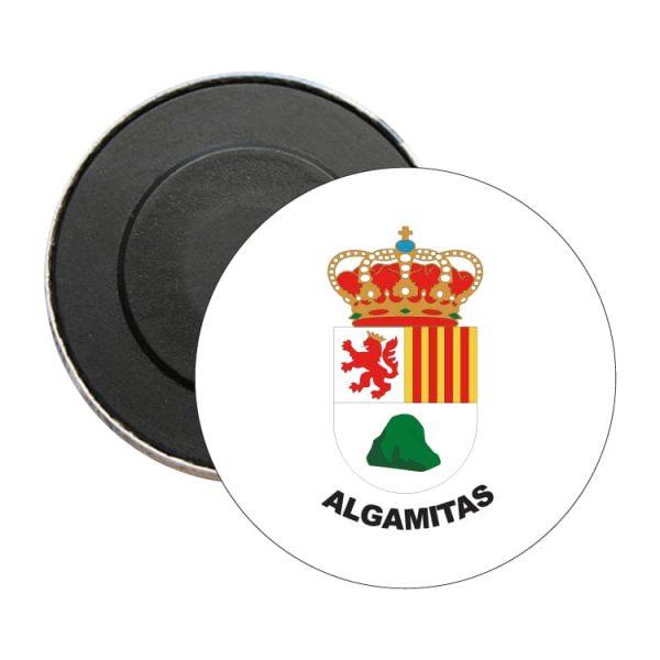 iman redondo escudo heraldico algamitas
