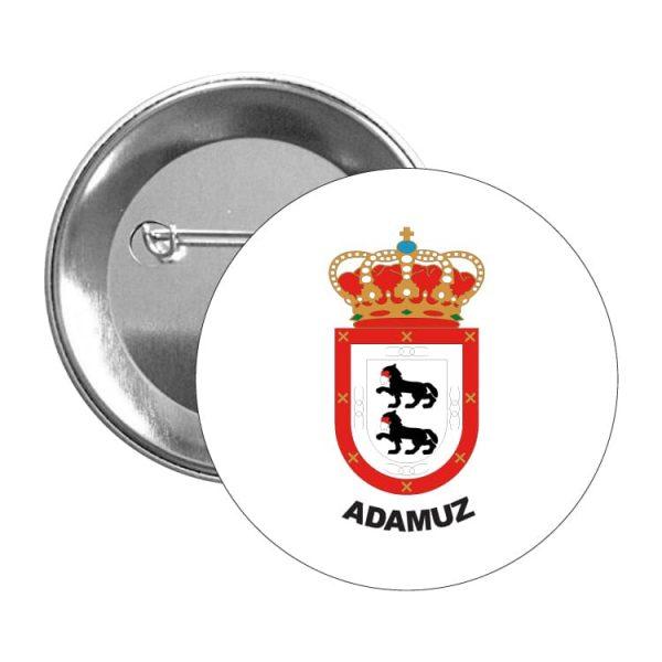 chapa escudo heraldico adamuz