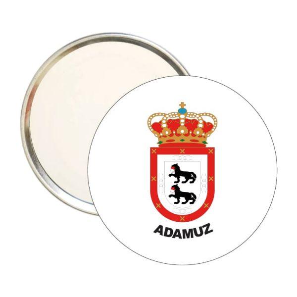 espejo redondo escudo heraldico adamuz