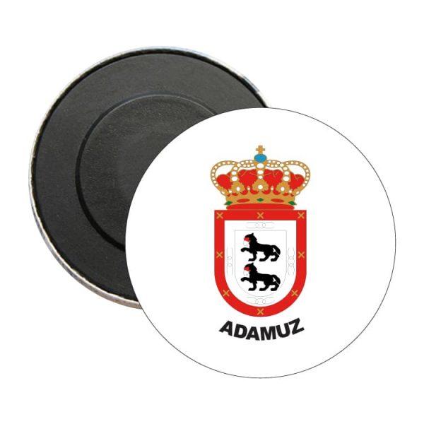 iman redondo escudo heraldico adamuz