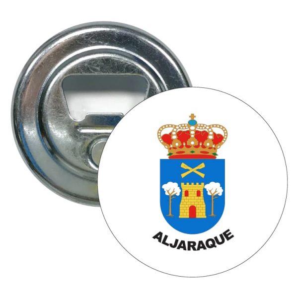 abridor redondo escudo heraldico aljaraque