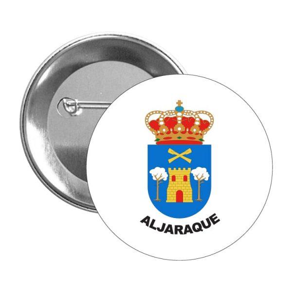 chapa escudo heraldico aljaraque