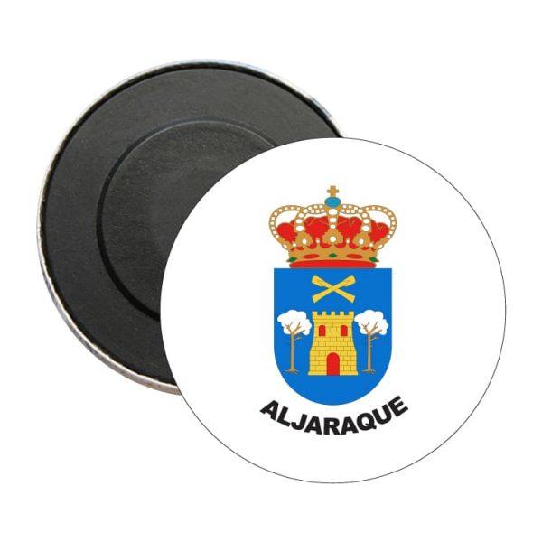 iman redondo escudo heraldico aljaraque