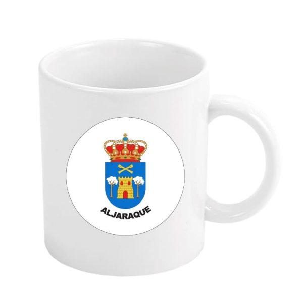 taza escudo heraldico aljaraque