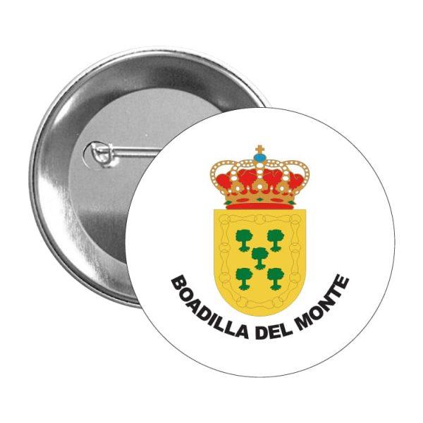 chapa escudo heraldico boadilla del monte