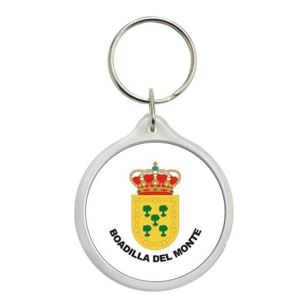 llavero redondo escudo heraldico boadilla del monte