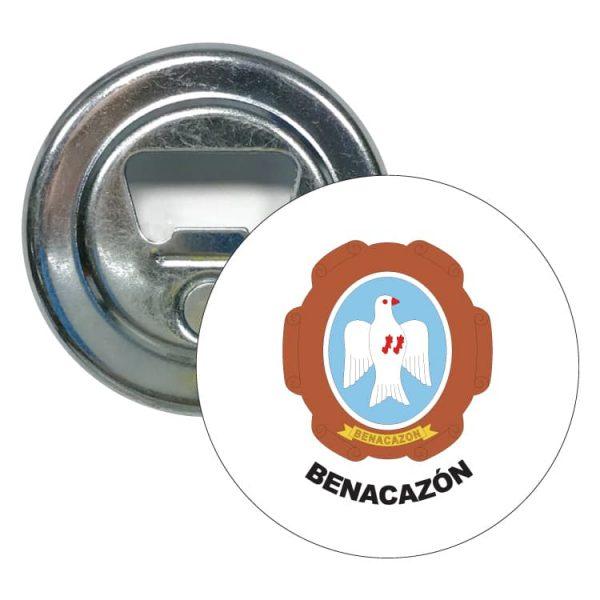 abridor redondo escudo heraldico benacazon