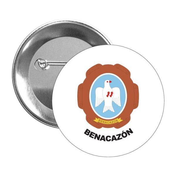 1389 chapa escudo heraldico benacazon