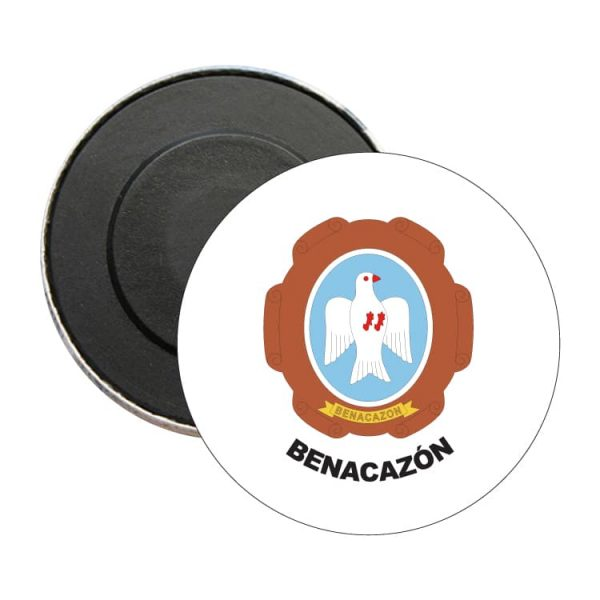 iman redondo escudo heraldico benacazon