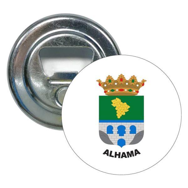 abridor redondo escudo heraldico alhama