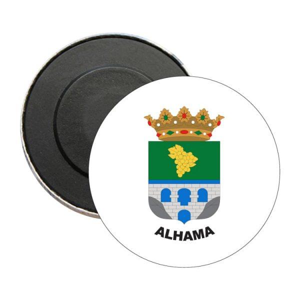 iman redondo escudo heraldico alhama
