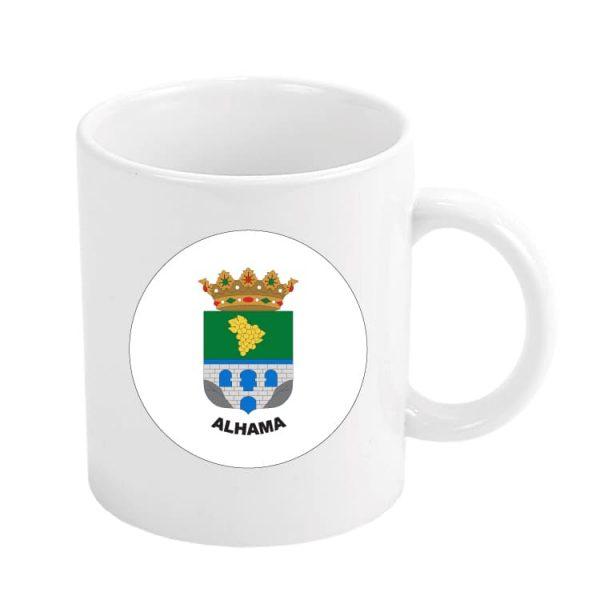 taza escudo heraldico alhama