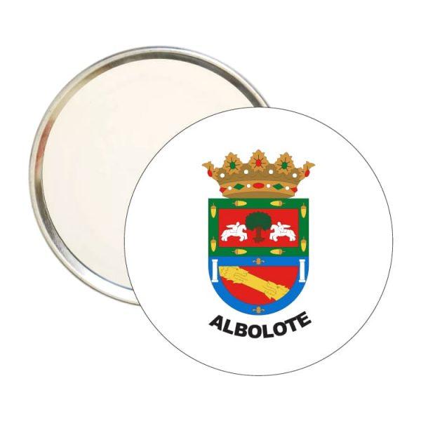 espejo redondo escudo heraldico albolote