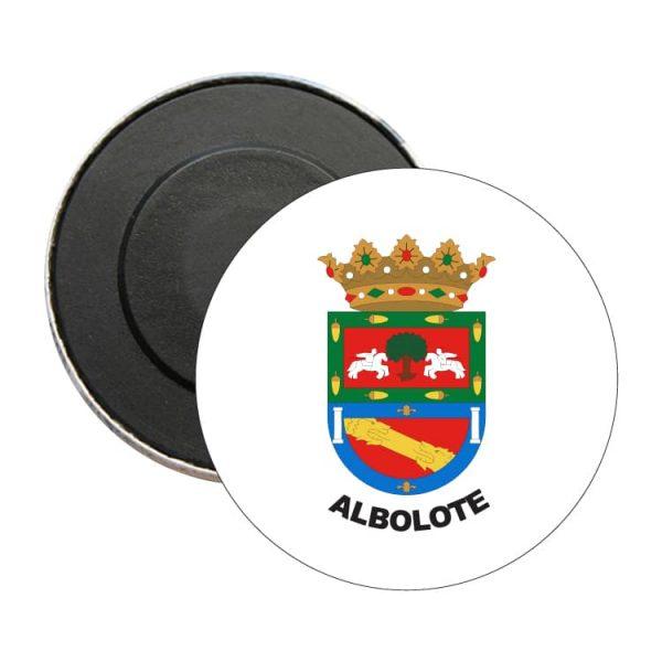 iman redondo escudo heraldico albolote