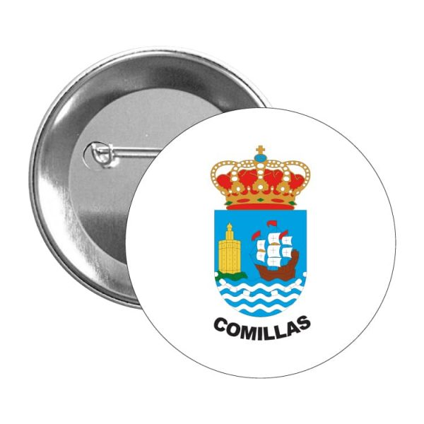 chapa escudo heraldico comillas