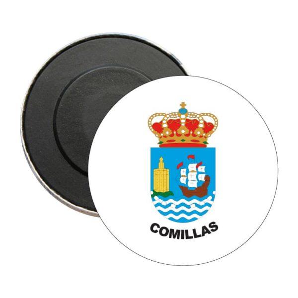 iman redondo escudo heraldico comillas