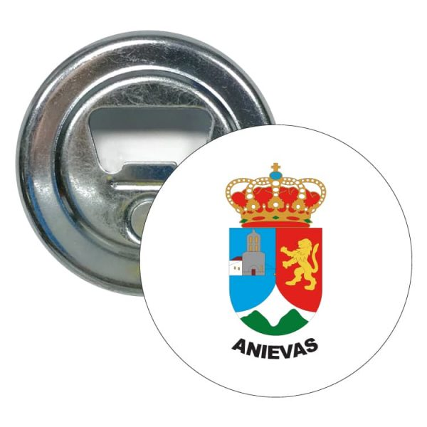 abridor redondo escudo heraldico anievas