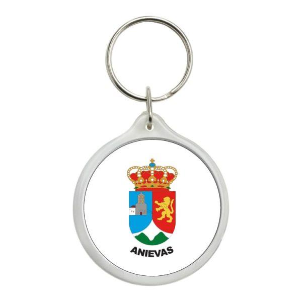 llavero redondo escudo heraldico anievas