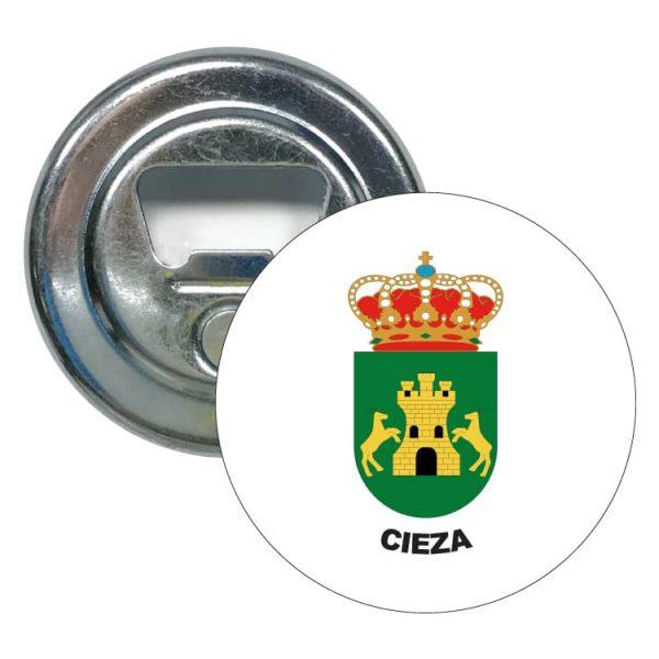 abridor redondo escudo heraldico cieza