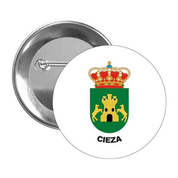 chapa escudo heraldico cieza