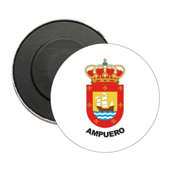 iman redondo escudo heraldico ampuero