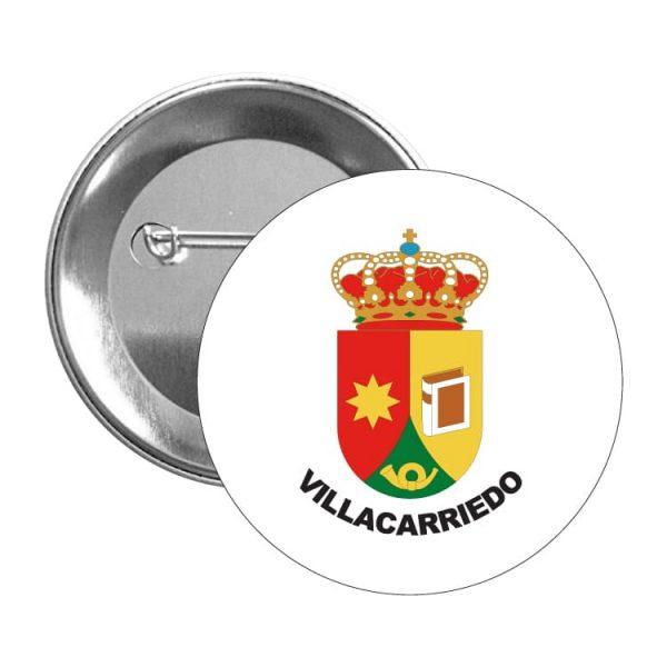 chapa escudo heraldico villacarriedo