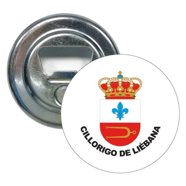 abridor redondo escudo heraldico cillorigo de liebana