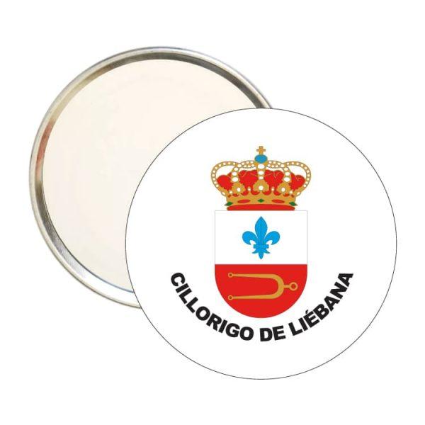 espejo redondo escudo heraldico cillorigo de liebana