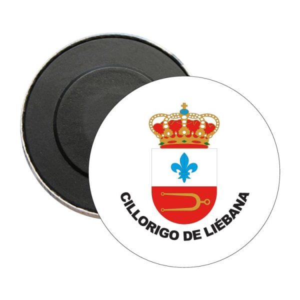iman redondo escudo heraldico cillorigo de liebana