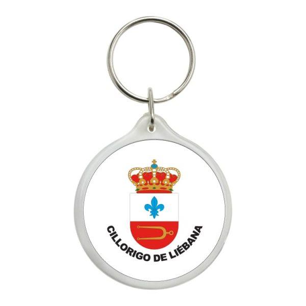 llavero redondo escudo heraldico cillorigo de liebana