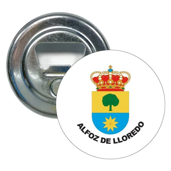 abridor redondo escudo heraldico alfoz de lloredo