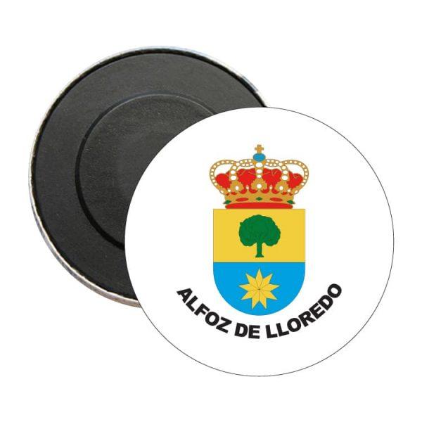 iman redondo escudo heraldico alfoz de lloredo