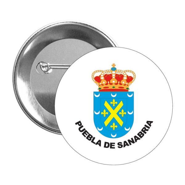 1406 chapa escudo heraldico puebla de sanabria