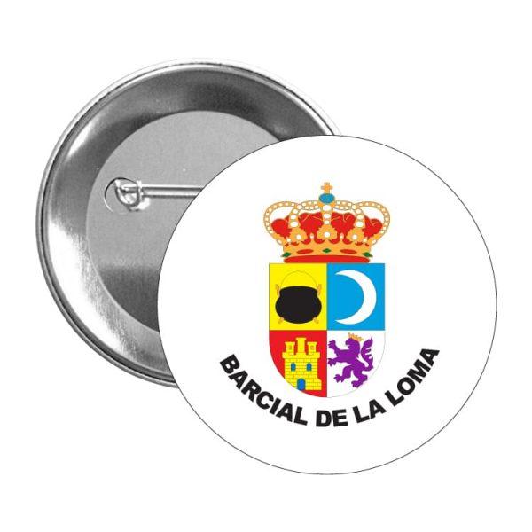1407 chapa escudo heraldico barcial de la loma