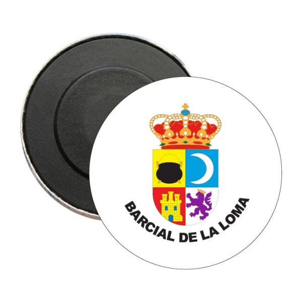 iman redondo escudo heraldico barcial de la loma