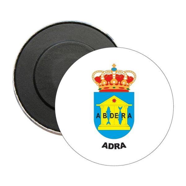 iman redondo escudo heraldico adra