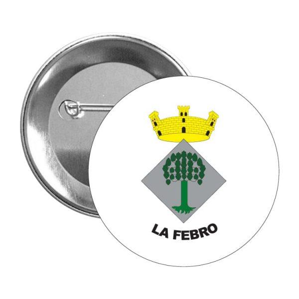 1411 chapa escudo heraldico la febro