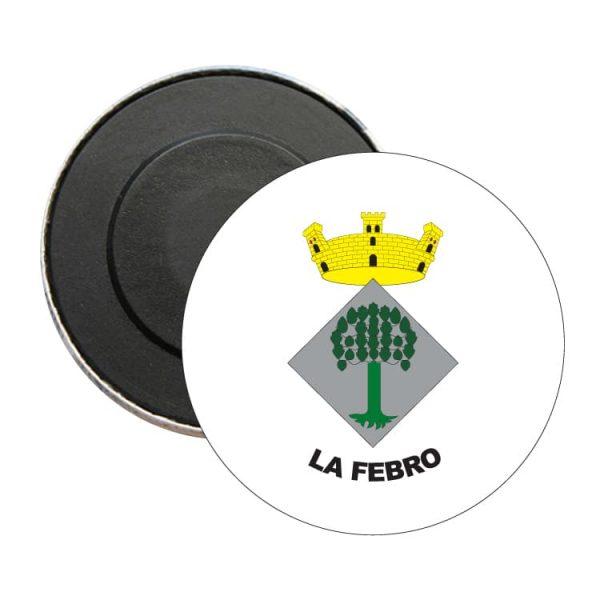 iman redondo escudo heraldico la febro
